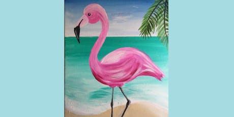 Flamingo Paint Night tickets