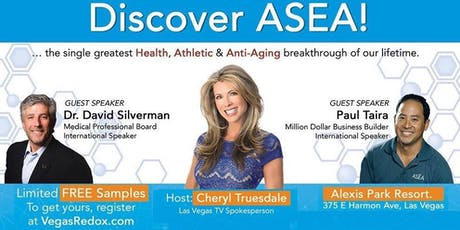 ASEA Redox Technology - A new category of science in health and wellness tickets