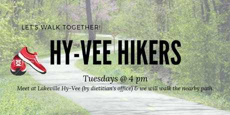 Lakeville Hy-vee Hikers tickets