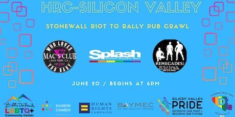 HRC Silicon Valley Presents: Stonewall 50 Pub Crawl tickets