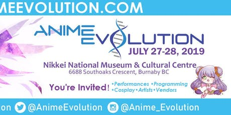 Anime Evolution 2019 tickets