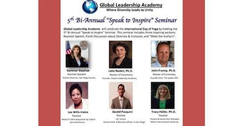"""The 5th Bi-Annual """"Speak to Inspire"""" Seminar"""
