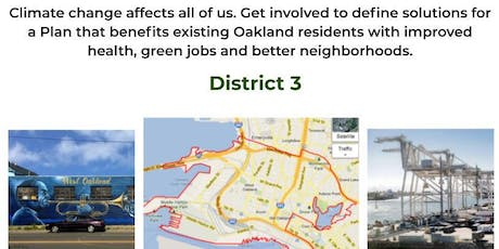 District 3 Community Workshop: Oakland 2030 Equitable Climate Action Plan tickets