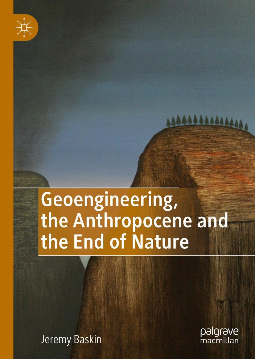 Book launch - Geoengineering, the Anthropocene and the End of Nature