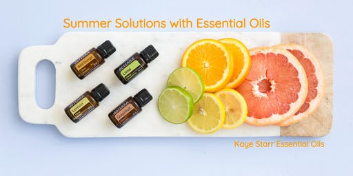 Summer Solutions with Essential Oils Make & Take Workshop