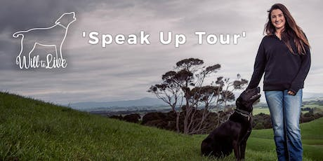 Will to Live's 2019 Speak Up Tour - CHEVIOT, North Canterbury tickets