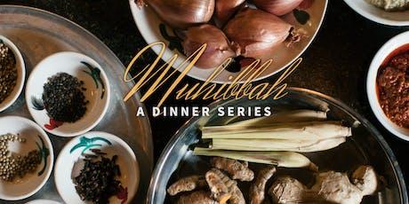 Muhibbah Dinner tickets