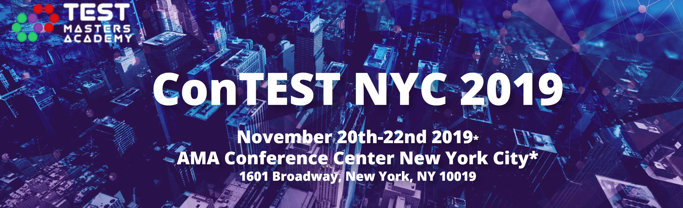 TestMasters ConTEST NYC 2019