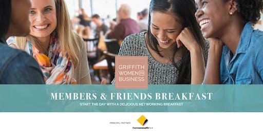 GWIB Members & Friends Breakfast