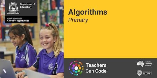 South Metro - TCC DT Workshop - Algorithms (Primary) - Helen Finnis and Kyle Edmonds