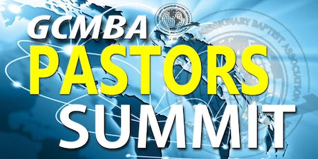GCMBA Pastors Summit tickets