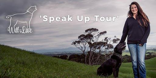 Will to Live's 2019 Speak Up Tour - PATUTAHI, Gisborne