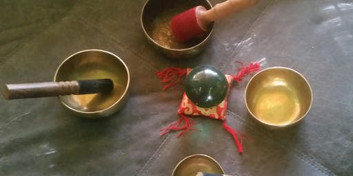 2nd  Sound Healing Certification Level 1   with  Tibetan and Crystal Quartz  Singing Bowls
