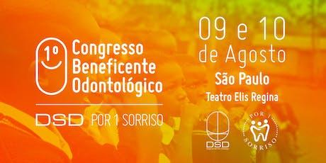 Congresso Beneficente DSDpor1sorriso ingressos
