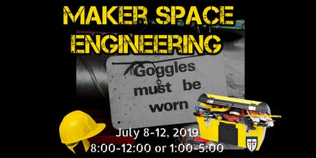 Maker Space Engineering Summer Camp @St. James Day School AM Session tickets