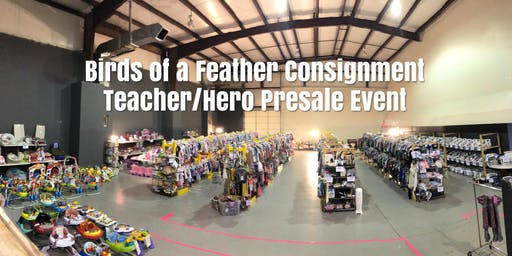 Birds of a Feather  Consignment TEACHER & HERO Presale