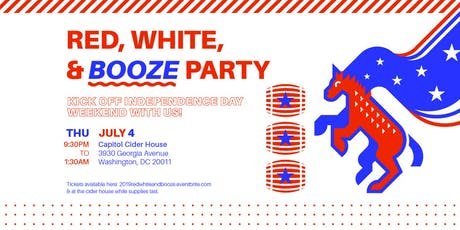 2019 Red, White & Booze Party tickets
