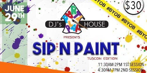 SIP N PAINT Tucson Edition