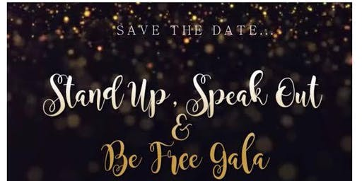 Stand Up, Speak Out & Be Free Fundraiser Reception
