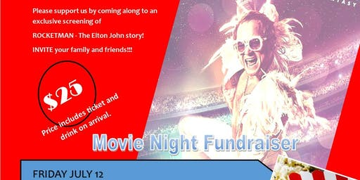 ROCKETMAN - Movie Night raising money for NOVITA