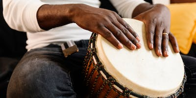 Hands on Drums (5 to 12 years) at Epping Library