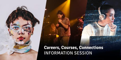Careers, Courses, Connections - Information Session