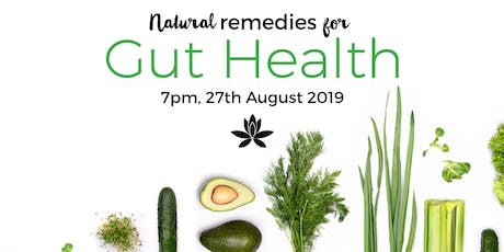 Natural Remedies for Gut Health with FREE Kombucha and Fermenting Demo tickets