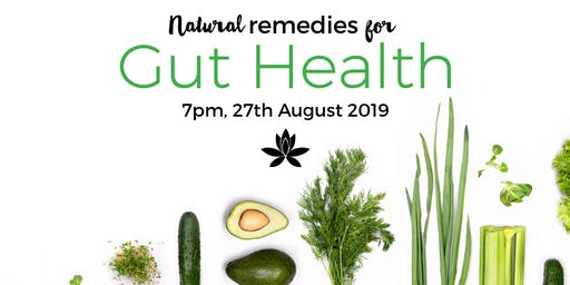 Natural Remedies for Gut Health with FREE Water Kefir and Fermenting Demo