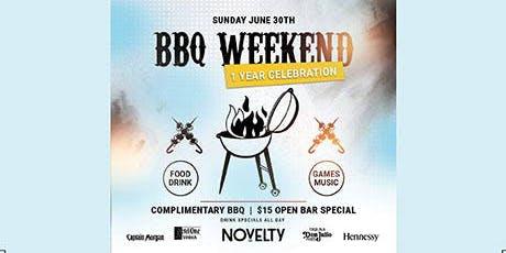 Novelty BBQ Weekend - 1 Year Anniversary  tickets