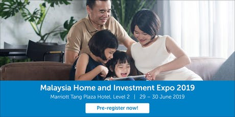 Malaysia Home and Investment Expo 2019 tickets