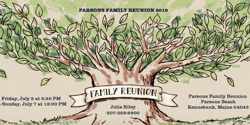 Parsons Family Reunion 2019