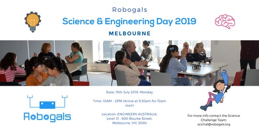 Melbourne Science and Engineering Day [July 2019]