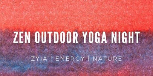 ZEN Outdoor Yoga Night