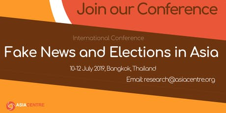 International Conference on Fake News and Elections in Asia tickets