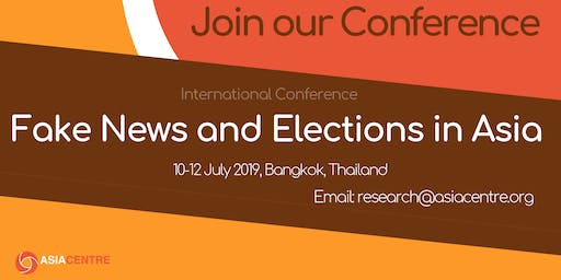 International Conference on Fake News and Elections in Asia
