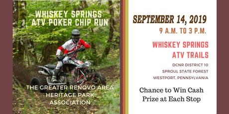 2019 Whiskey Springs ATV Poker Chip Run tickets