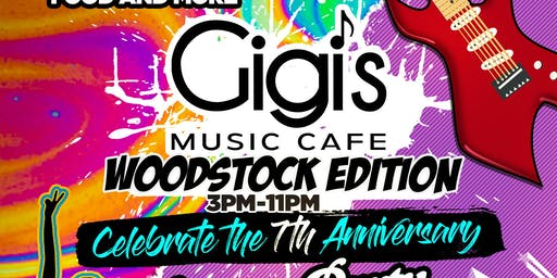 Gigi's Music Cafe 7 Year Anniversary Day Party & 3 Course Dinner Celebration