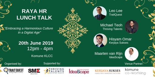 RAYA HR LUNCH TALK: Embracing a Harmonious Culture in a Digital Age