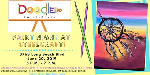 Paint Night at SteelCraft!