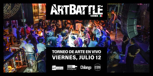 Art Battle Ciudad de México - 12 de Julio, 2019