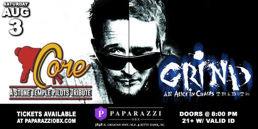 Stone Temple Pilots & Alice in Chains Tribute LIVE at Paparazzi OBX!