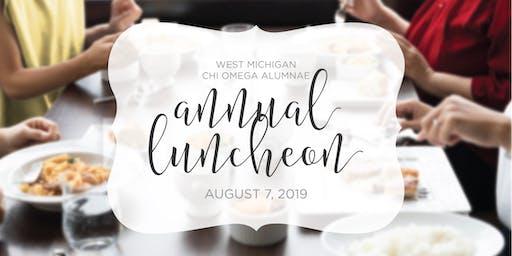 West MI Chi Omega Alumnae Annual Luncheon 2019