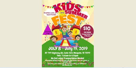 Kids Summer Fest tickets