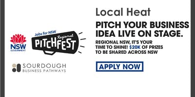 Regional Pitchfest: Local Heat - Northern Rivers