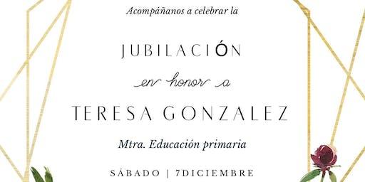 Fiesta en honor a la Jubilación de Teresa González