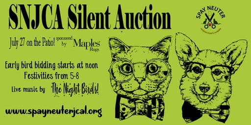SNJCA Silent Auction