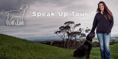 Will to Live's 2019 Speak Up Tour - PUKETAPU, Hawkes Bay tickets