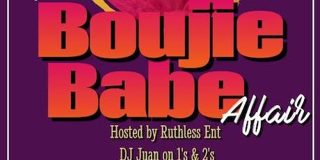 BoujieBabeAffair tickets