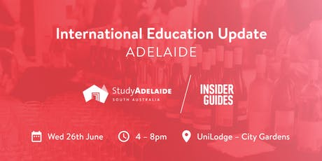 International Education Update - Adelaide 26/06/2019 tickets