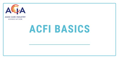 ACFI Basics tickets